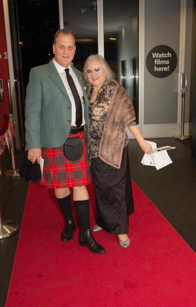 Duncan Cameron and Helen Morris